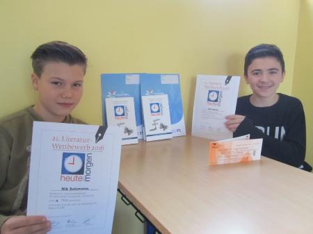 Gewinner beim Dortmunder Literaturwettbewerb