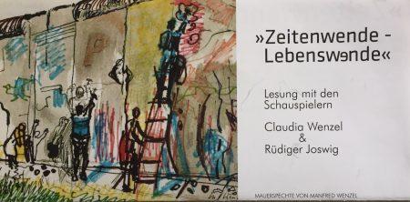 Claudia Wenzel und Günter Joswig berichten über ihr Leben in der ehemaligen DDR am RSG
