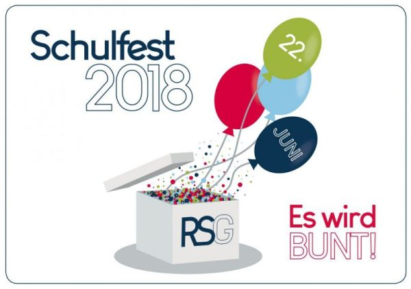 Save the Date: Unser Schulfest am 22.06.2018