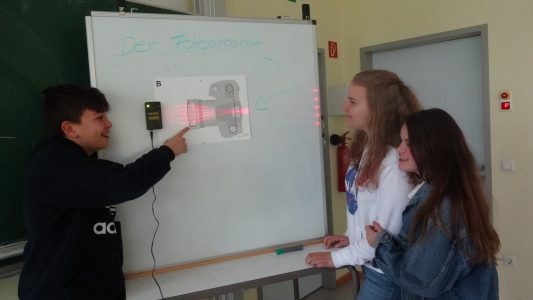 Neues Optik-Experimentierset für den Physikunterricht