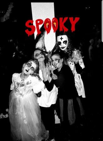 Gruslig fröhliche Halloween Party der Klassen 5 und 6
