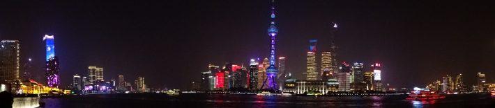 Die Nachtfahrt in Shanghai
