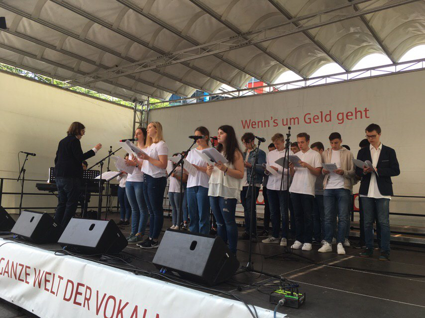 RSG-Chöre beim Festival Klangvokal