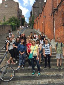 Rückblick auf Fahrt nach Liège (Lüttich), Belgien, der Französisch-Lerner*innen der Stufe 7