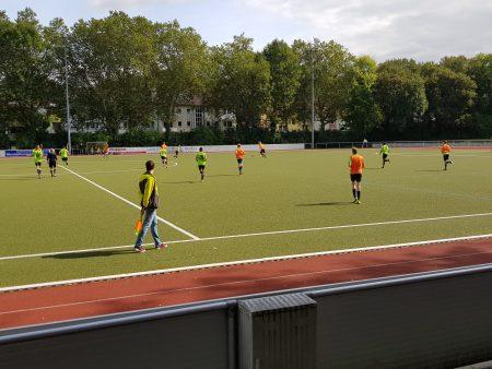 Harter Einsatz bei den Fußballstadtmeisterschaften 2019