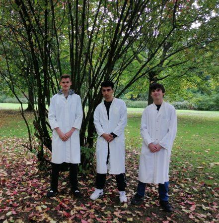 Nico, Sören und Usama erfolgreich beim Tag der Chemie