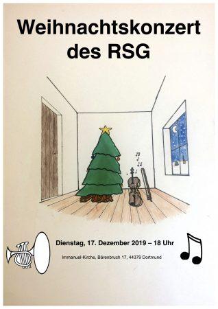 Weihnachtskonzert am 17.12.2019