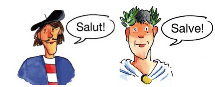 Französisch oder Latein?
