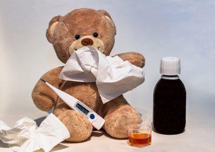Zuhause bleiben wegen einer Erkältung?