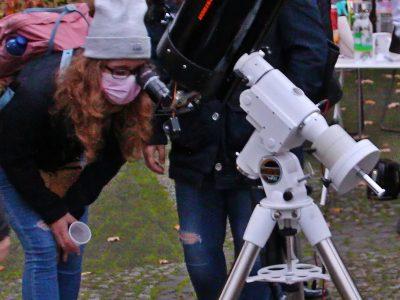 Auf der Suche nach den Sternen an der Sternwarte im Westfalenpark