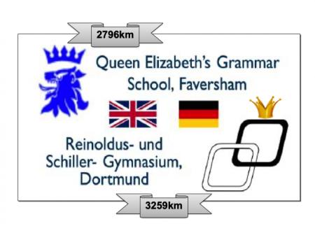 Sportliche und internationale Distanz-Schulchallenge mit der Queen Elisbeth's Grammar School Faversham