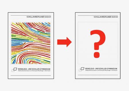 Gestaltung der Titelseite des Schulplaners