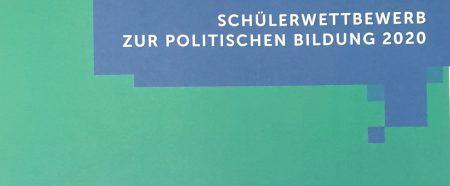 Q2 Sowi Zusatzkurs erfolgreich beim Schülerwettbewerb zur politischen Bildung 2020