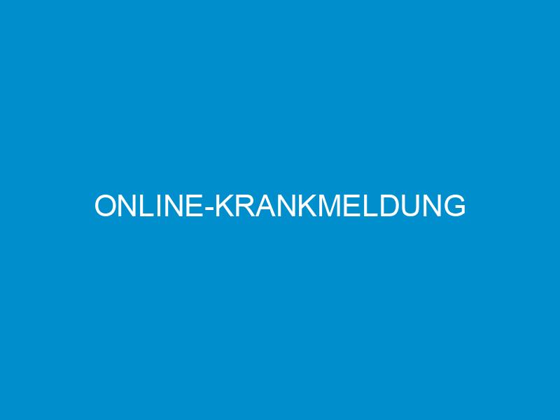 online krankmeldung 4021