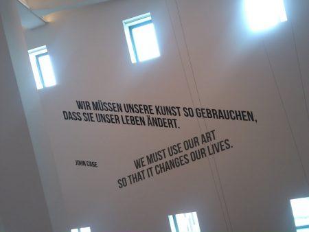 Exkursion der drei EF-Kunstkurse in das Museum Ostwall im Dortmunder U