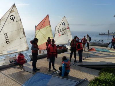 Classtrip in form 6d: Sailing on the Kemnader Lake