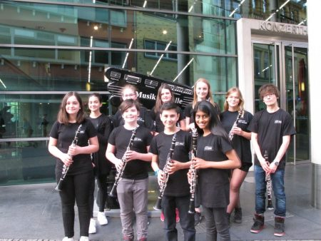 Musikprofil des RSG durch Rotary Clubs gefördert